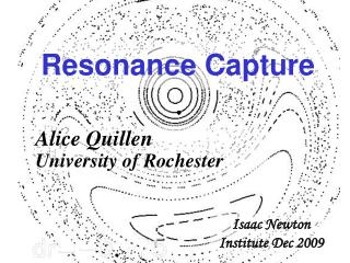 Resonance Capture