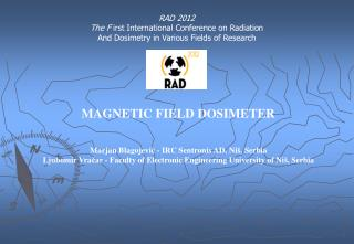 MAGNETIC FIELD DOSIMETER
