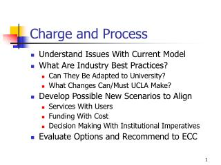 Charge and Process