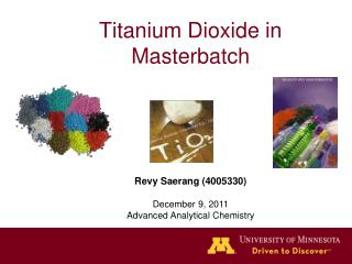 Titanium Dioxide in Masterbatch