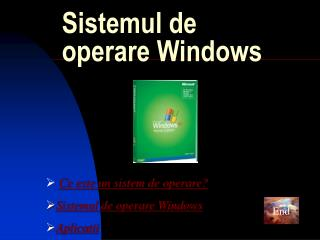 Sistemul de operare Windows