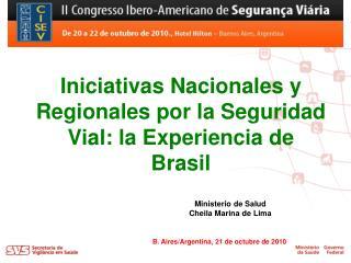 Ministerio de Salud Cheila Marina de Lima