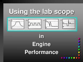Using the lab scope