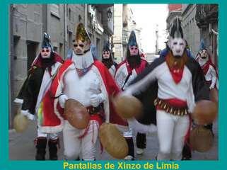 A riqueza do entroido en Galicia