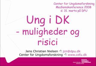 Ung i DK - muligheder og risici