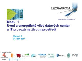 Modul 1  vod a energetick  vlivy datov ch center        a IT provozu na  ivotn  prostred