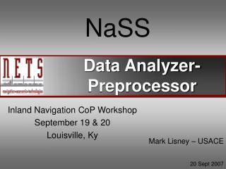 Data Analyzer-Preprocessor