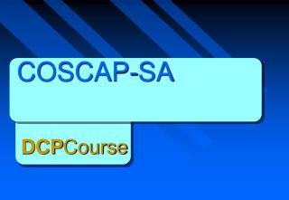 COSCAP-SA