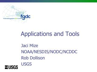 Applications and Tools