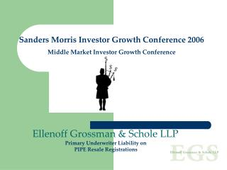Sanders Morris Investor Growth Conference 2006 Middle Market Investor Growth Conference