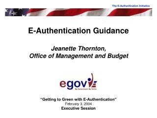 EAuthentication Integration Status   eGovernment Program