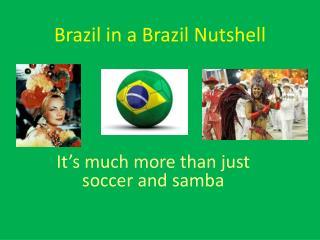 Brazil in a Brazil Nutshell