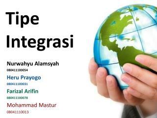 Tipe Integrasi