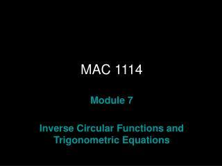 MAC 1114