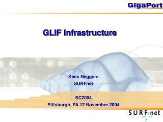 GLIF Infrastructure