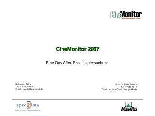 CineMonitor 2007