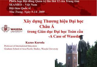 Phi n hp Hi dng Qun tr ln th 12 ca Trung t m SEAMEO   Vit Nam Hi tho Quc t   Nha Trang, Ng y 9-14- 2009              X y