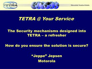 TETRA  Your Service