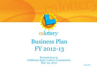 Business Plan FY 2012-13