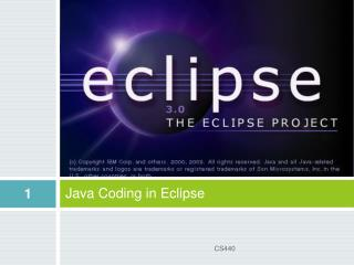 Java Coding in Eclipse