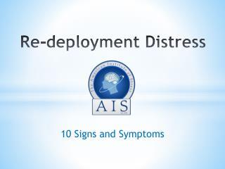 Re-deployment Distress