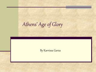Athens  Age of Glory