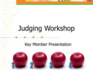 Judging Workshop