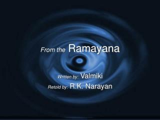 From the Ramayana