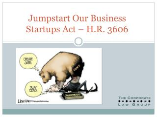 Jumpstart Our Business Startups Act   H.R. 3606