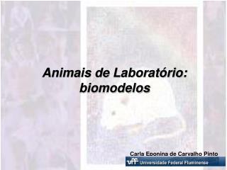 Animais de Laborat rio: biomodelos