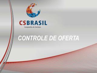 CONTROLE DE OFERTA