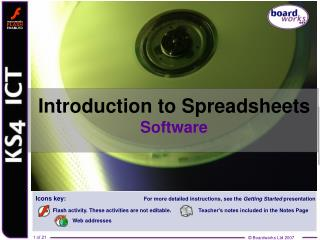 Introduction to Spreadsheets Software