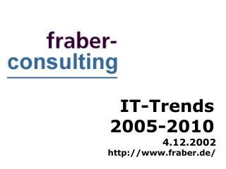 IT-Trends 2005-2010