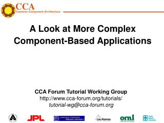 A Look at More Complex Component-Based Applications