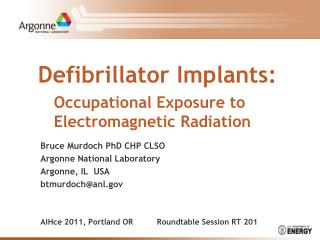 Defibrillator Implants: