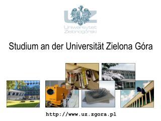 Studium an der Universit t Zielona G ra
