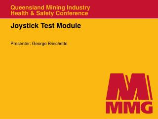 Queensland Mining Industry Health  Safety Conference