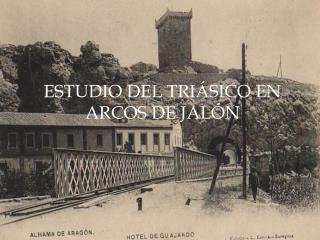 ESTUDIO DEL TRI SICO EN ARCOS DE JAL N