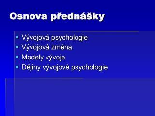 V vojov  psychologie