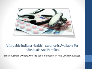 Affordable Private Indiana Health Insurance Coverage