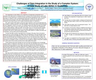 Challenges of Data Integration in the Study of a Complex System: