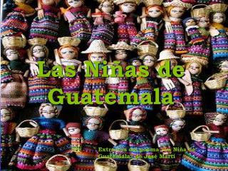 La ni a de Guatemala - LUCI RNAGA