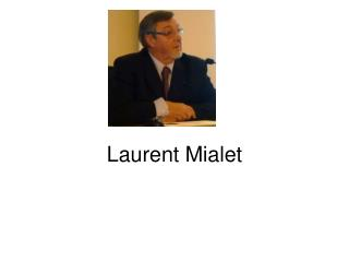 Laurent Mialet