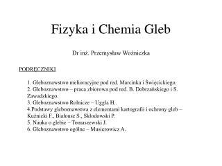 Fizyka i Chemia Gleb