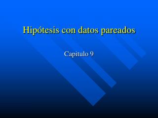 Hip tesis con datos pareados