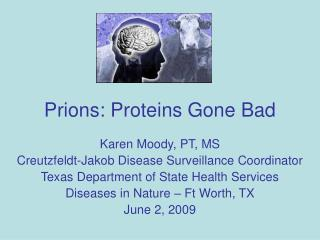 Prions: Proteins Gone Bad