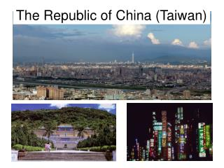 The Republic of China Taiwan