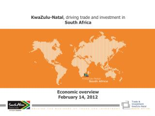 KwaZulu-Natal, driving trade and investment in South Africa