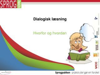 Dialogisk l sning