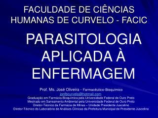 FACULDADE DE CI NCIAS HUMANAS DE CURVELO - FACIC